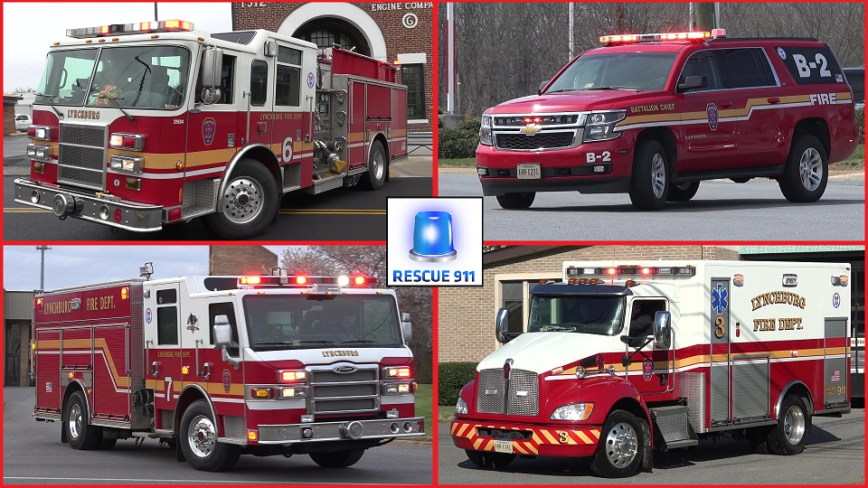 Lynchburg Fire Department (collection) (stream)
