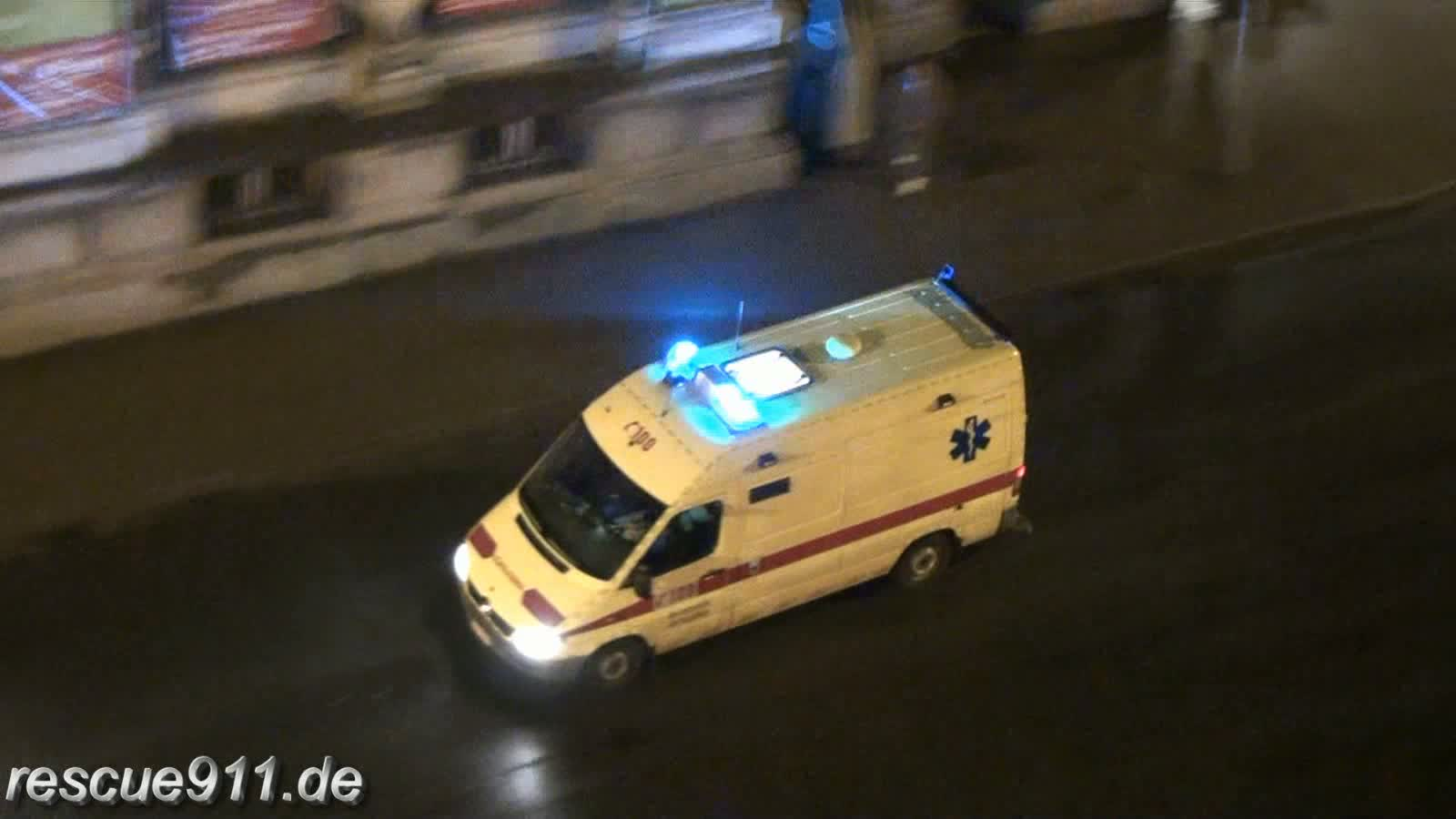 Ambulance Brandweer Antwerpen Post Central (stream)
