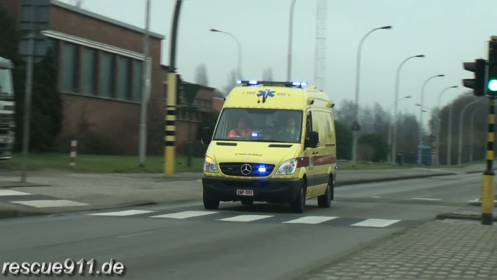 Ambulance Falck Ambuce ZNA Jan Palfijn (stream)