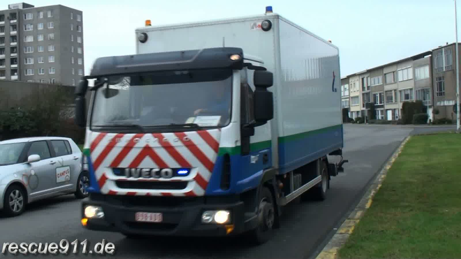 Gas emergency services IMEA Antwerpen (stream)