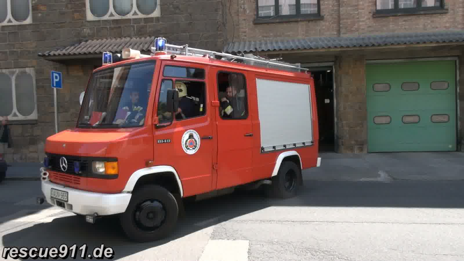 Pumper Fire department Budapest Fire station Jozsefvárós (stream)