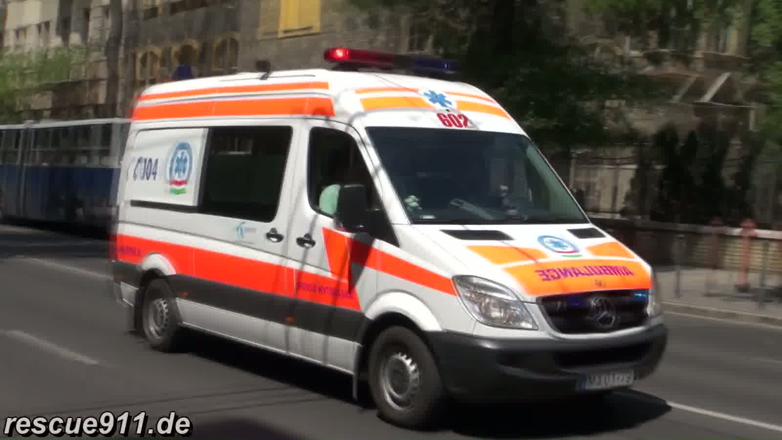 Ambulance Budapest (collection) (stream)