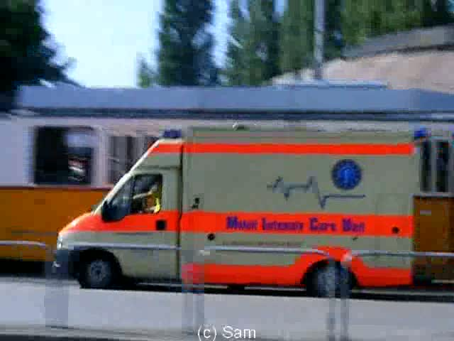 MICU Ambulance