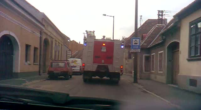 INSIDE VIEW - Ambulance Fire Department Koszeg