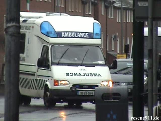 Emergency Ambulances in Dublin (stream)