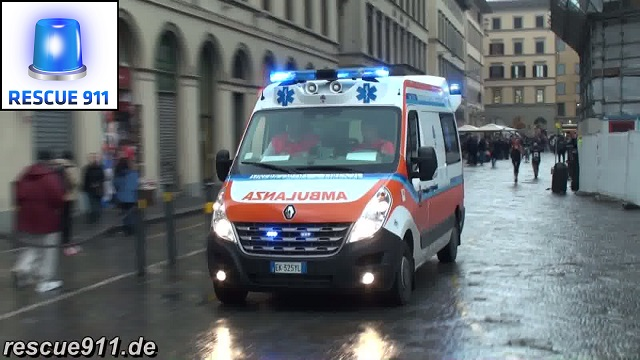 Ambulanza Misericordia di Firenze (stream)