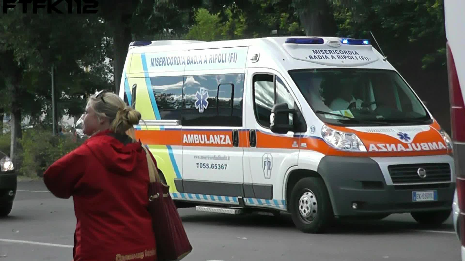 2x Ambulanza Firenze