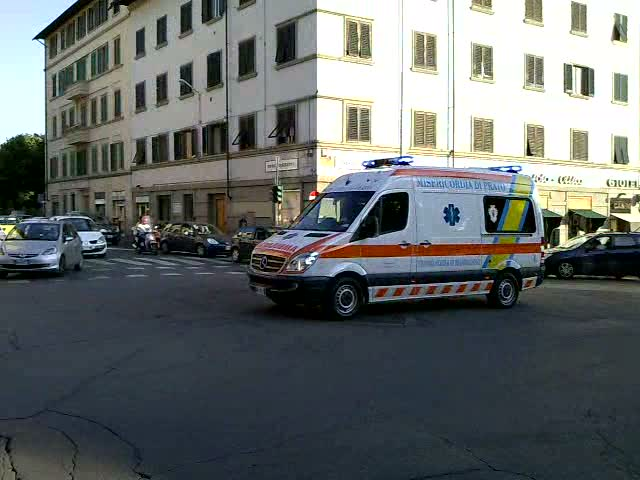 Ambulanza Firenze
