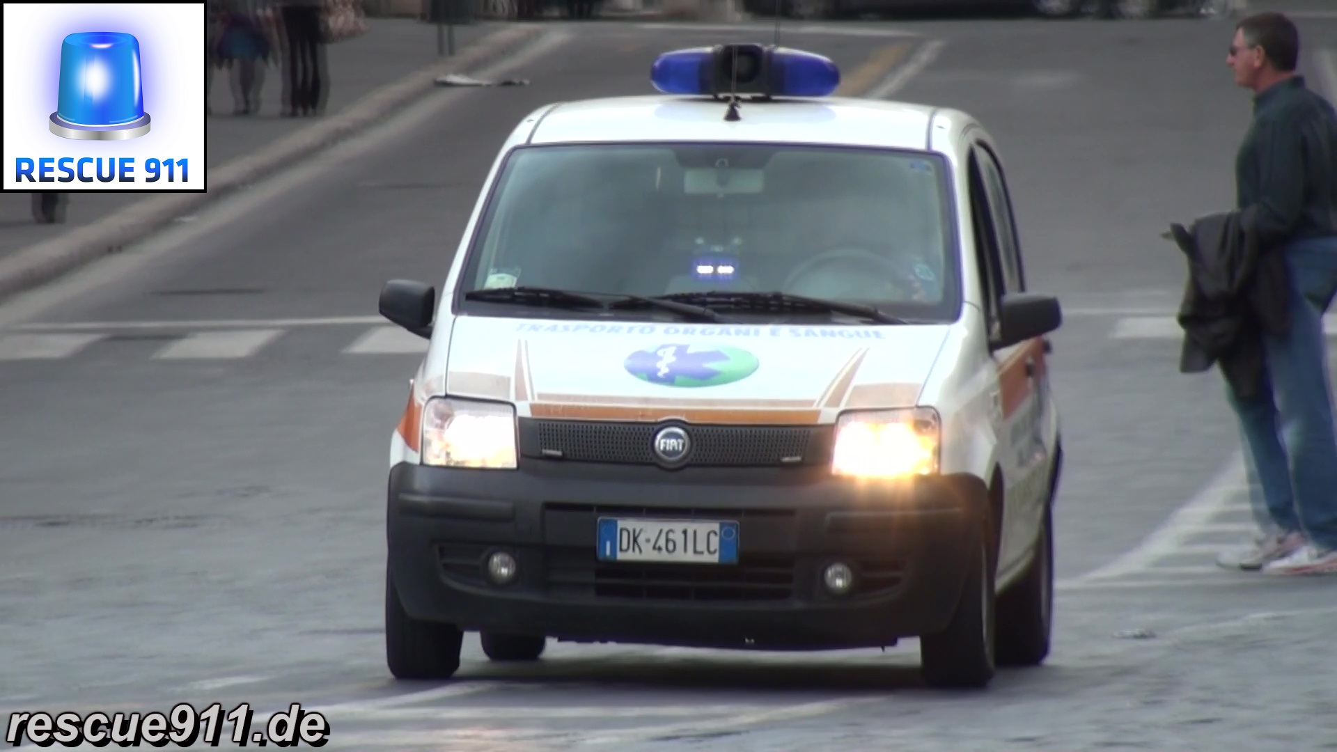 Emergency Vehicles Rome (collection) (stream)