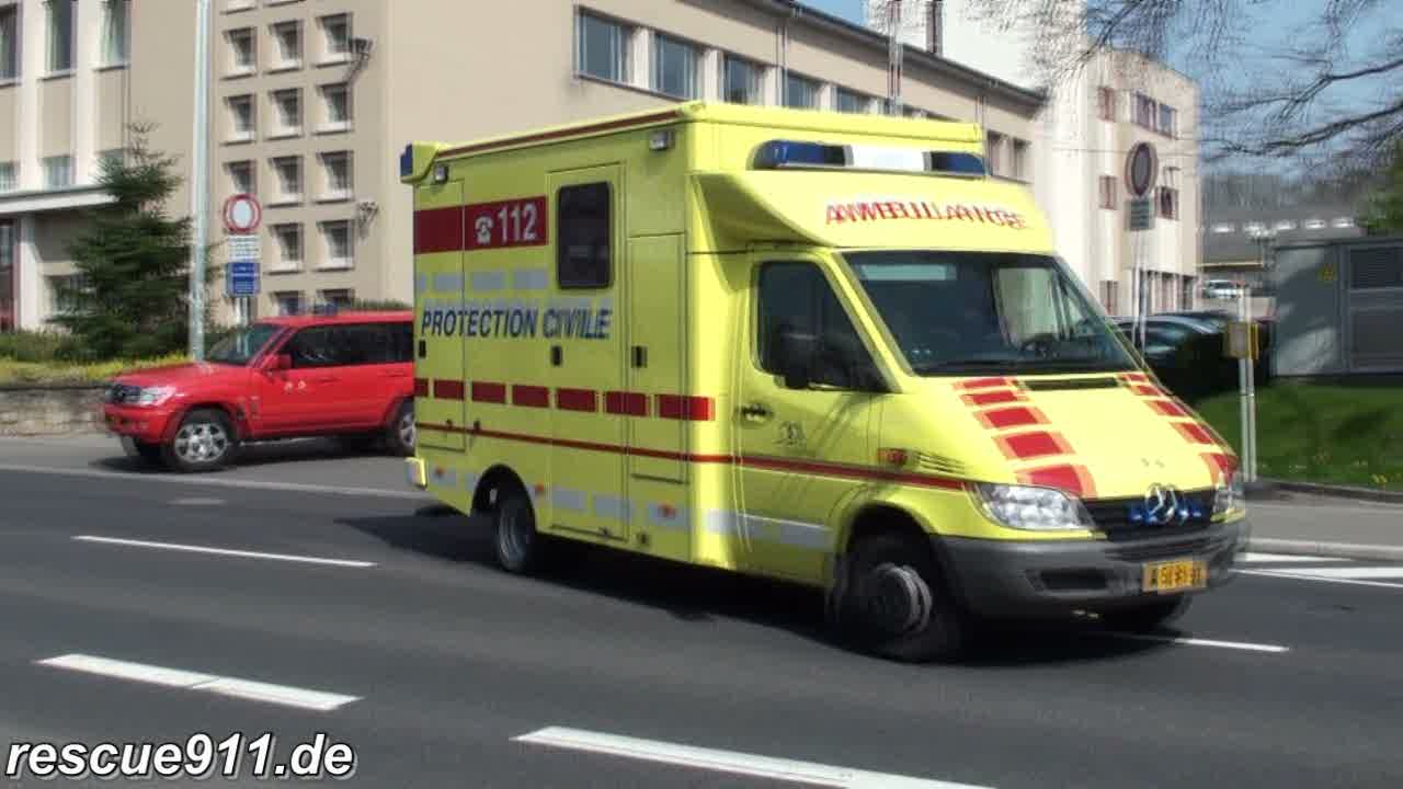 Ambulance Protection Civile Luxembourg (stream)