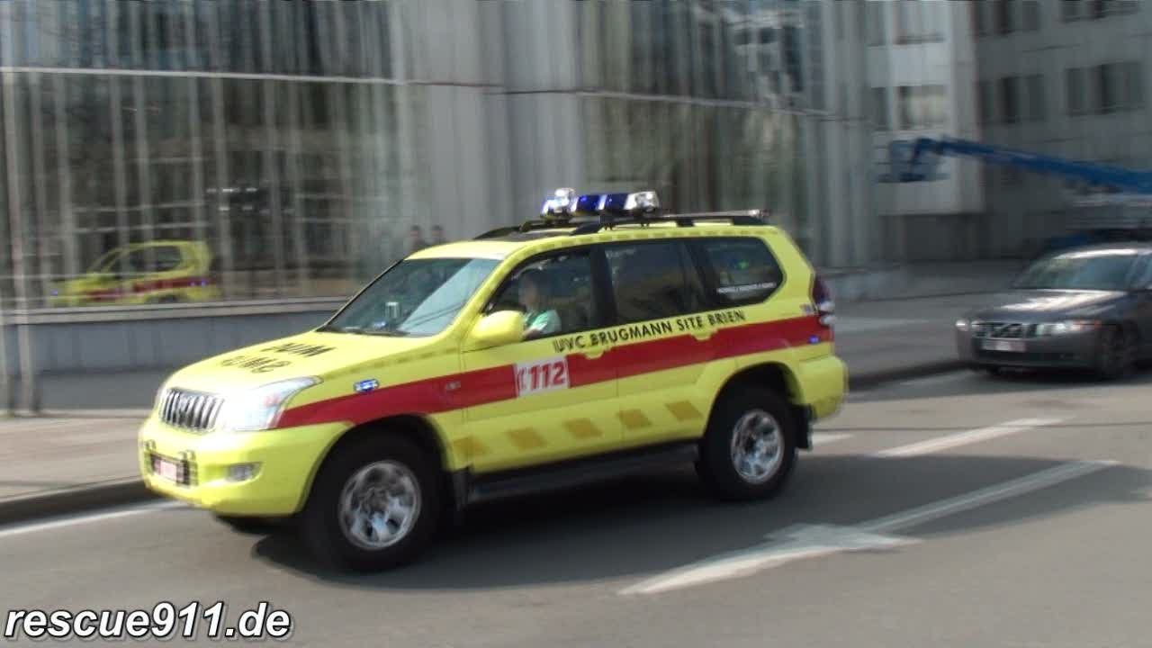 Ambulance A179 SIAMU + SMUR Schaerbeek (stream)