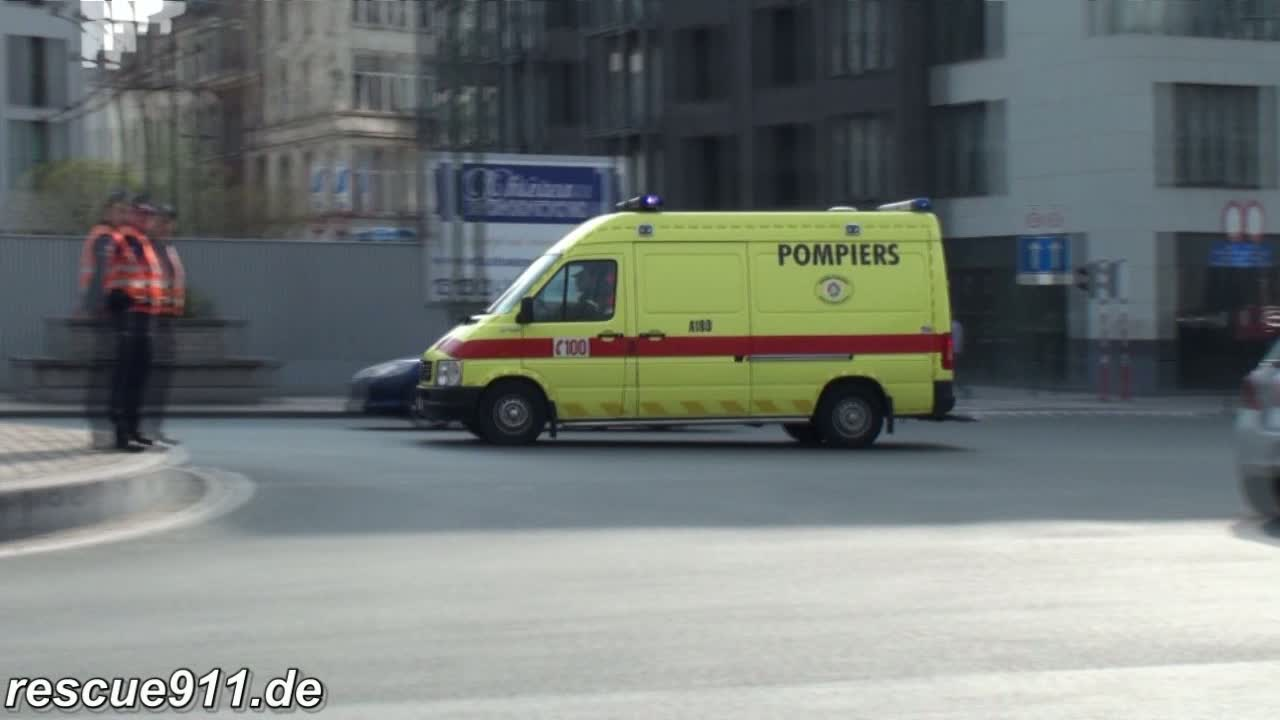Ambulance A180 SIAMU Héliport (stream)