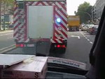 INSIDE VIEW - Ambulance M76 ACSA + convoi incendie SIAMU