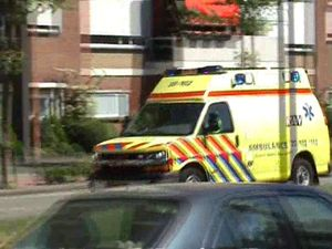 Ambulance 20-102 A1 rit