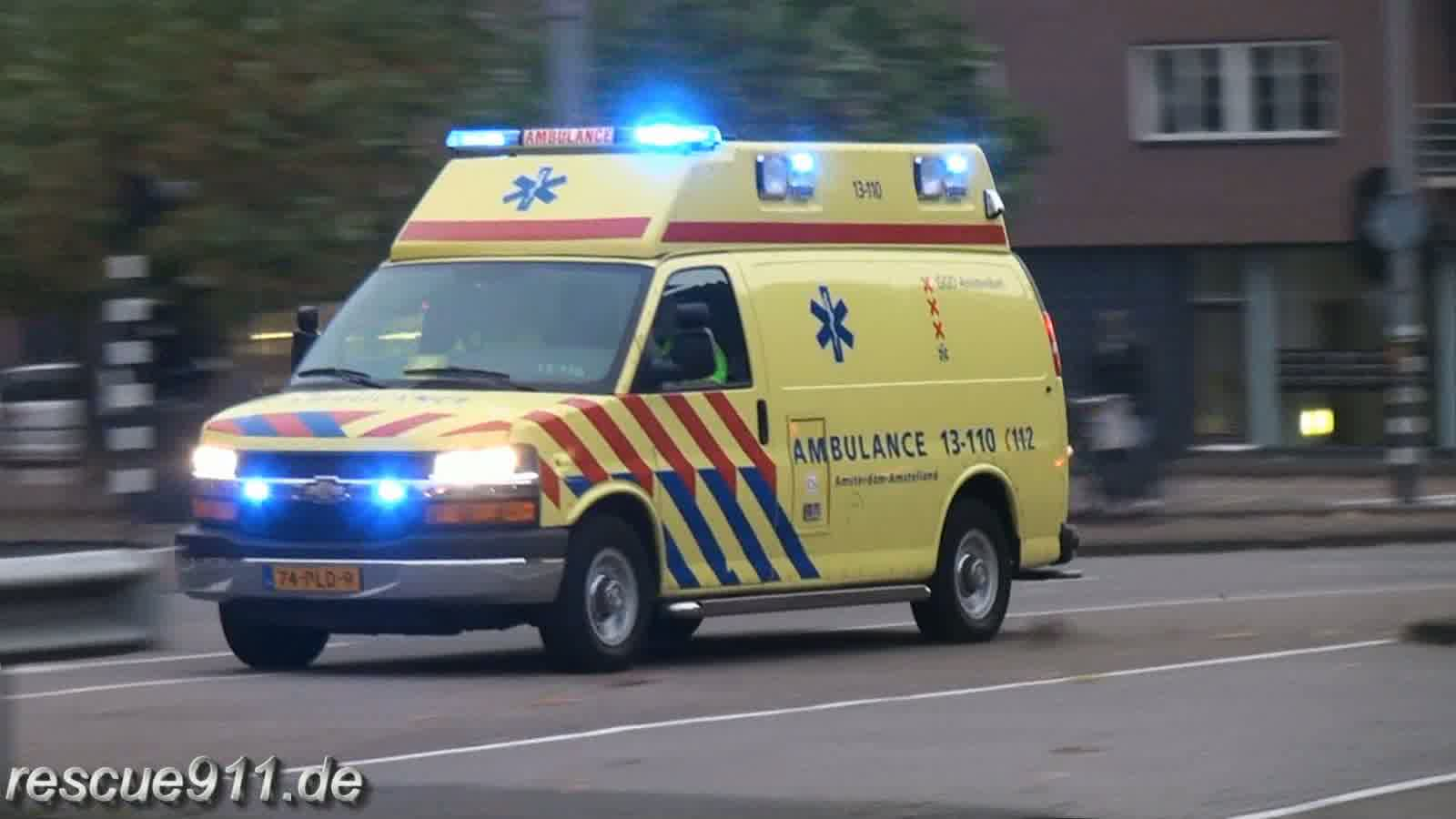 Ambulance GGD Amsterdam (collection) (stream)
