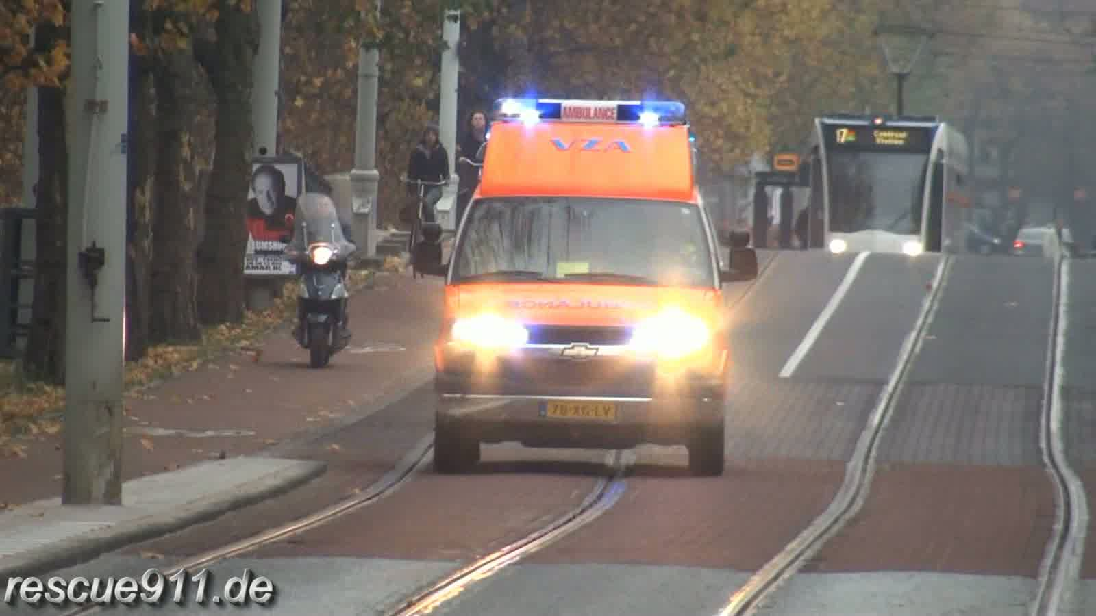 Ambulance VZA Amsterdam (collection) (stream)