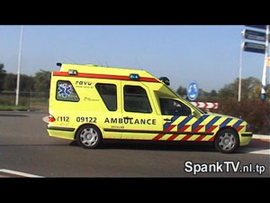 Ambulance A1 09122 in Uithoorn