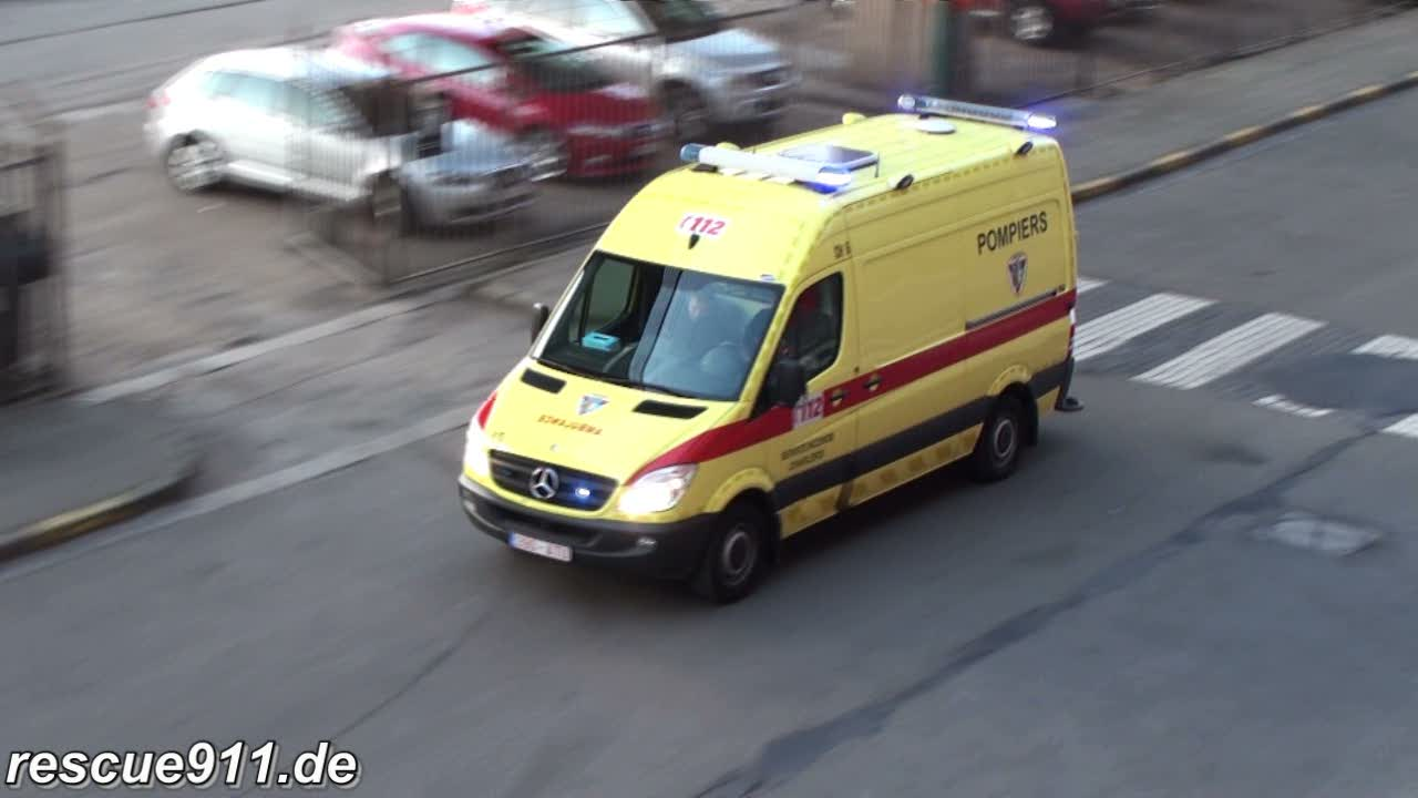 Ambulance SRI Charleroi (stream)
