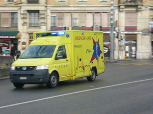 Ambulance STAR 418