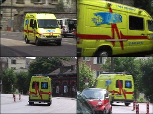 Mercedes Sprinter - Ambulance USR