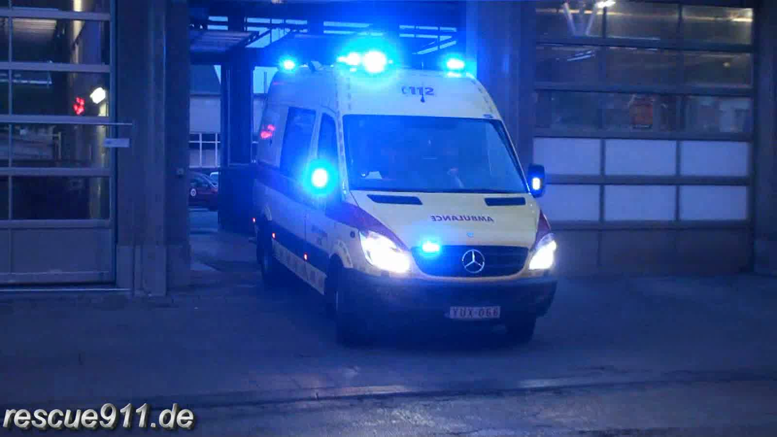 Ambulance IILE SRI Liège (stream)