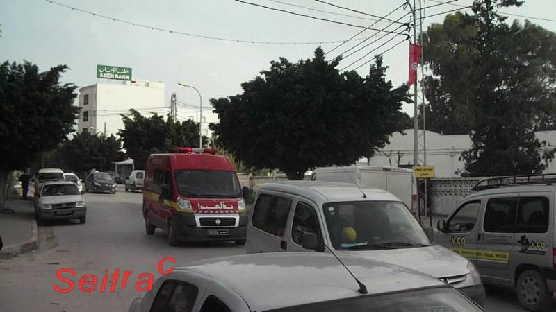 Ambulance Protection Civile Tunis