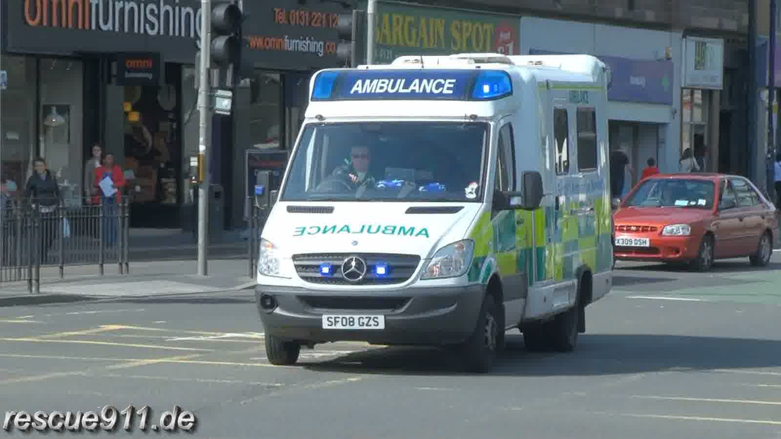 Scottish Ambulance Service (stream)