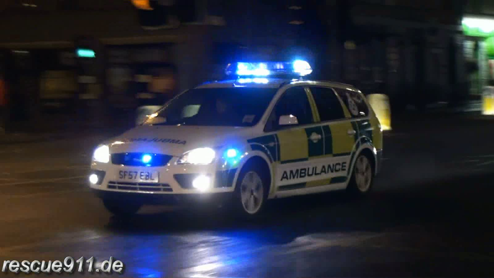 RRV Scottish Ambulance Service (stream)