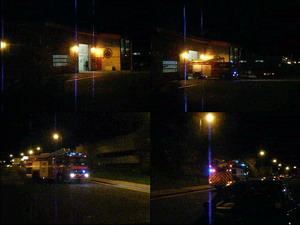 Rainton Bridge Fire Station to a reported rubbish fire
