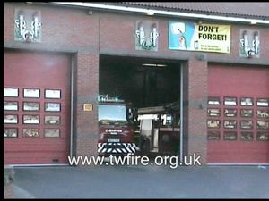 Sunderland Central Fire Station Turnout