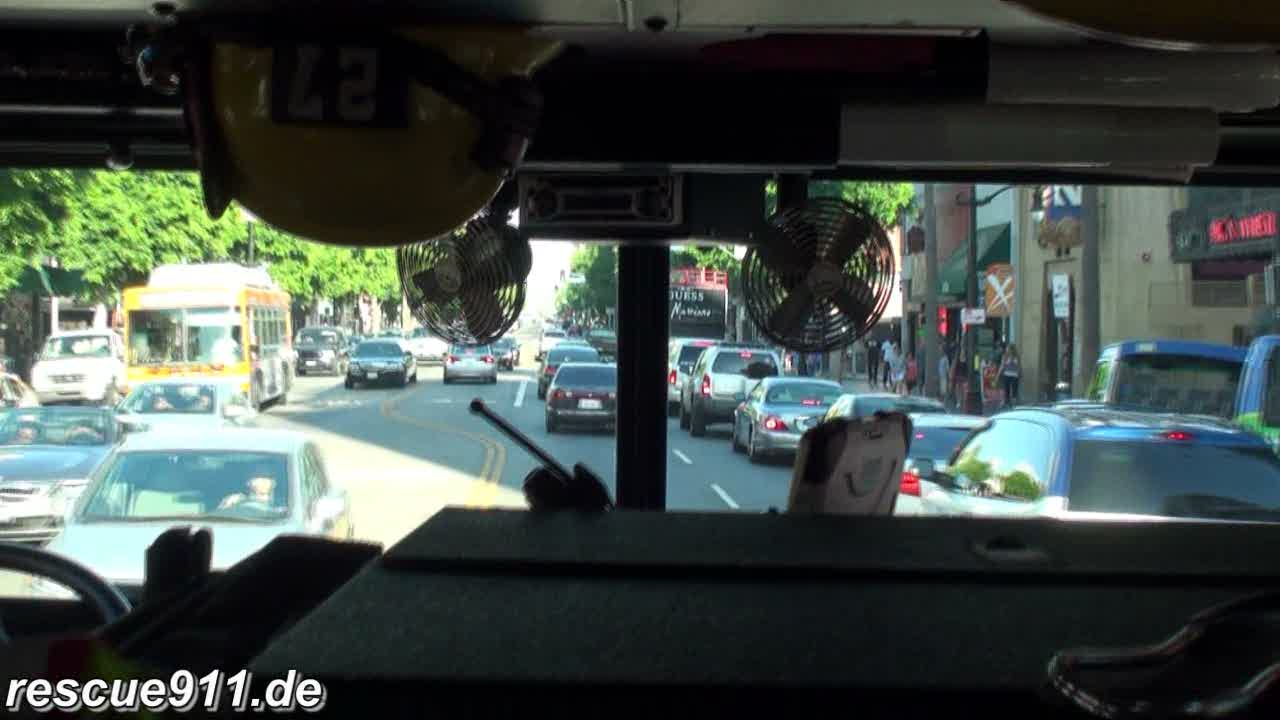 INSIDE VIEW - Engine 27 LAFD (stream)