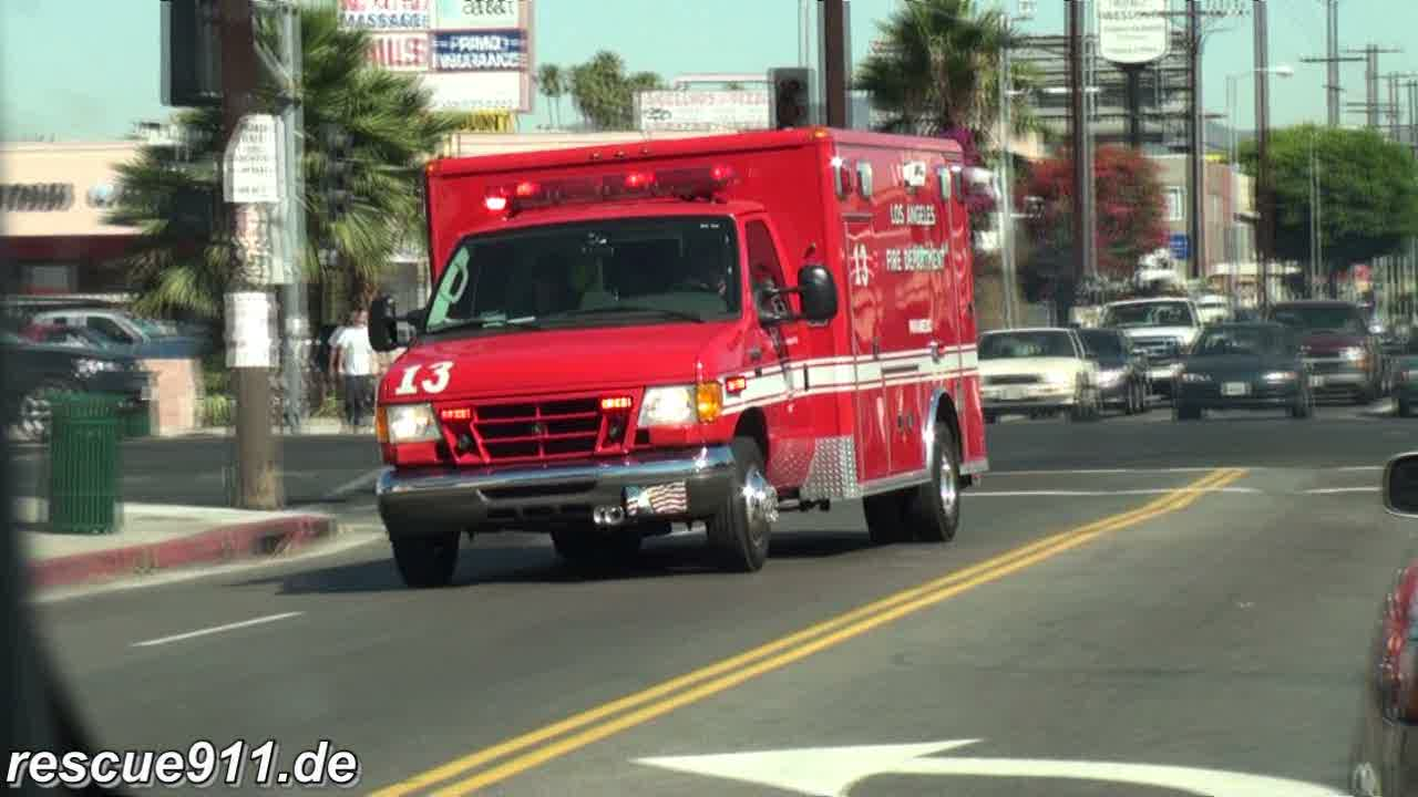 Rescue 13 LAFD (stream)
