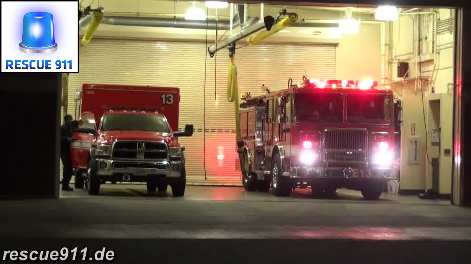 Engine 13 + Rescue 13 LAFD (stream)