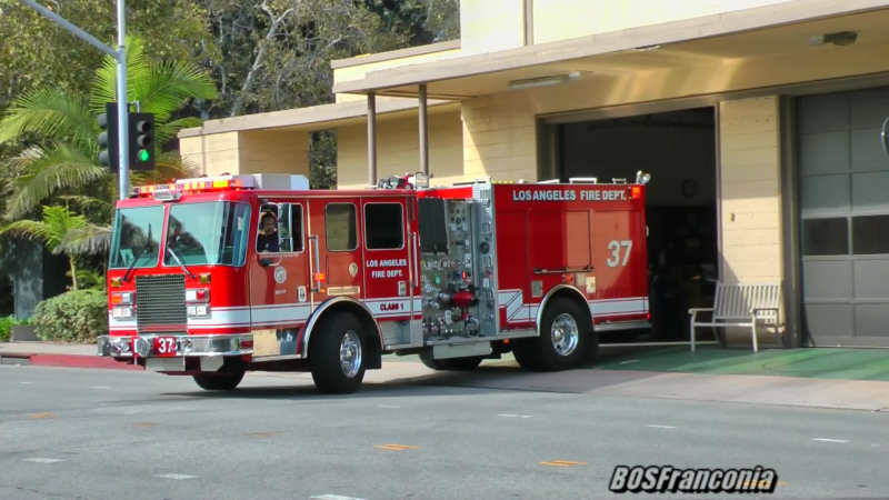Engine 37 LAFD