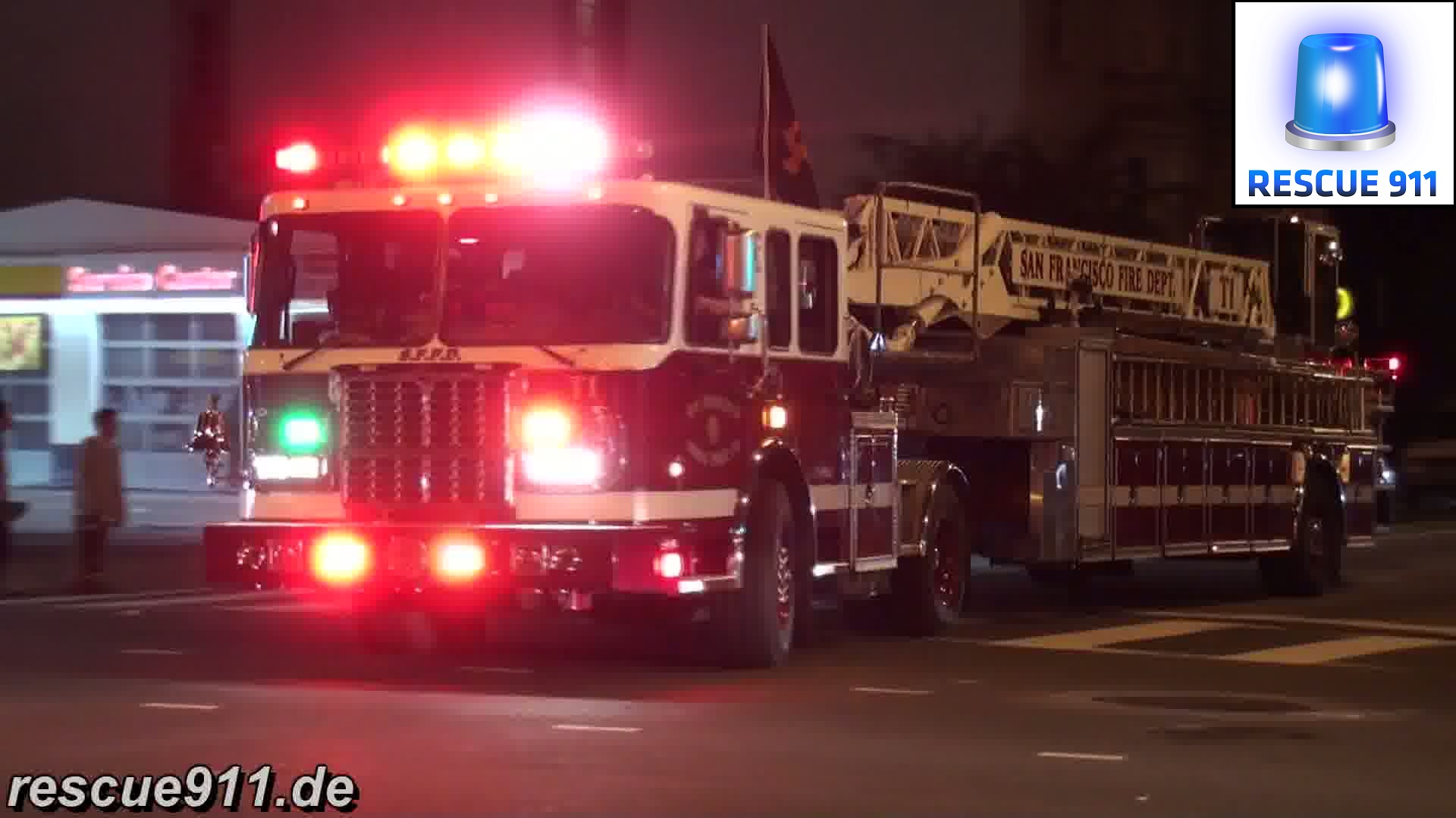Engine 1 + Truck 1 SFFD (stream)