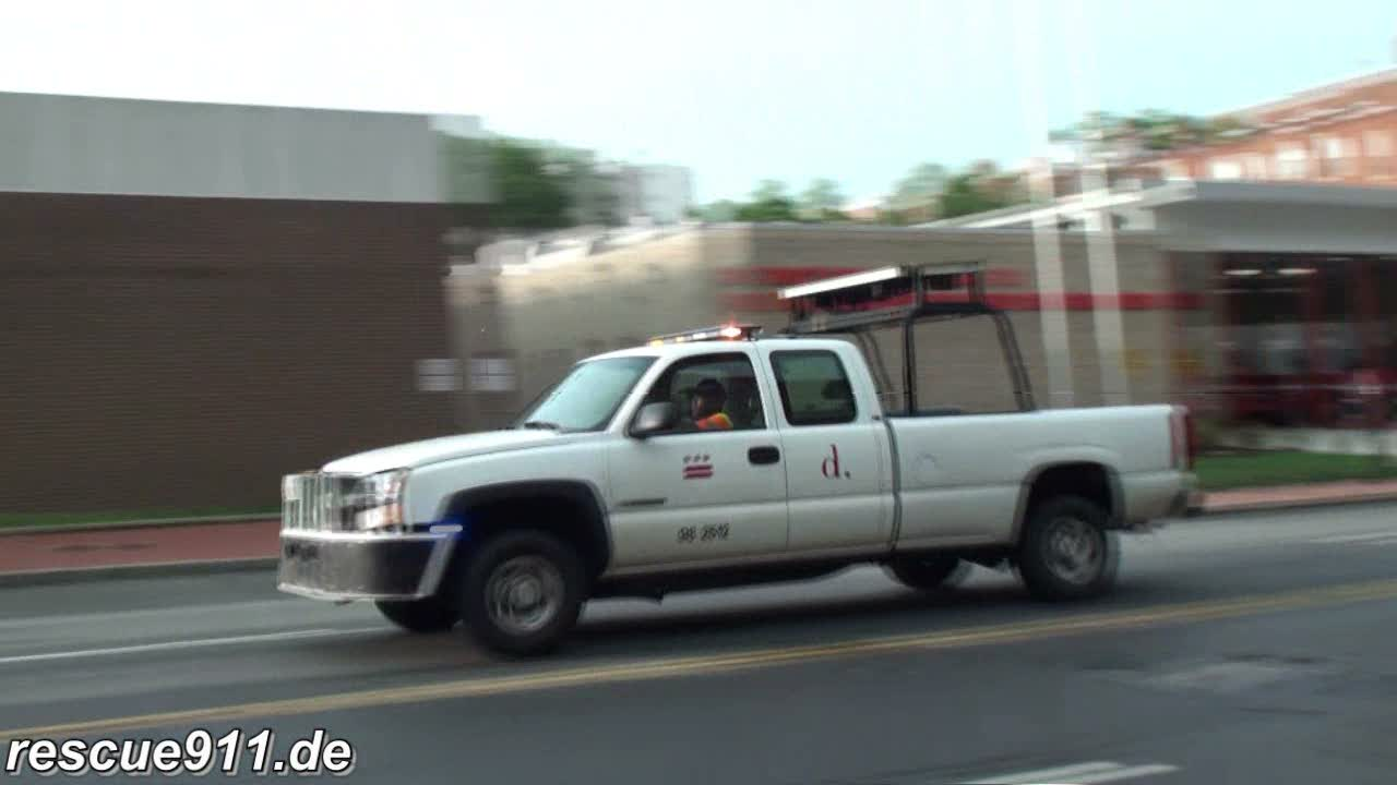 Pickup truck emergency services (stream)