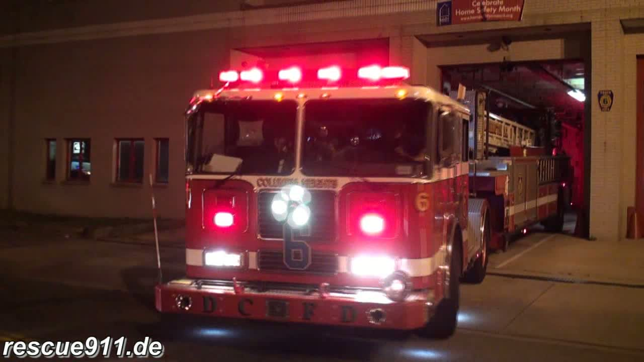 Truck 6 + Engine 11 DCFD (stream)