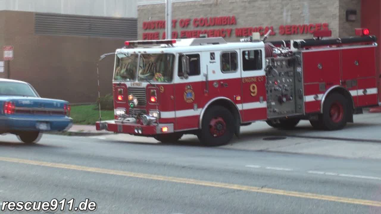 Washington DC emergency vehicles (collection) (stream)