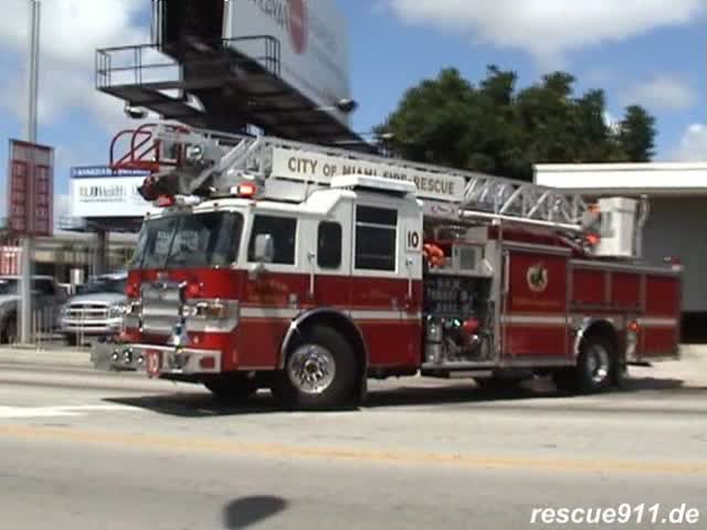 Quint 10 Miami Fire-Rescue (stream)