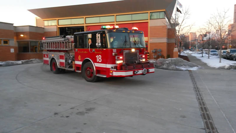 Engine 18 Chicago Fire Department