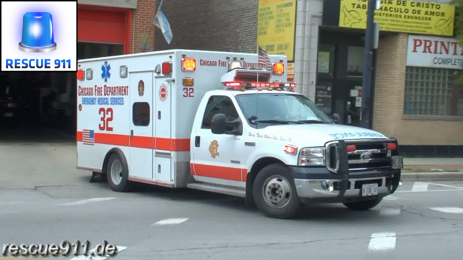 Ambulance 32 CFD (stream)
