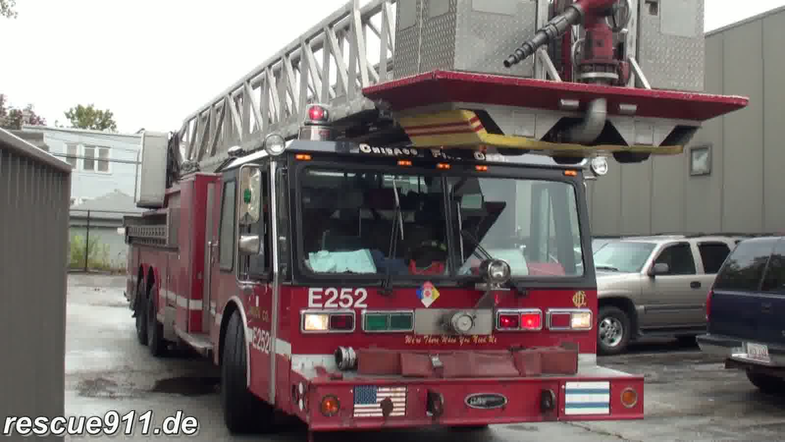 INSIDE VIEW - Tower ladder 14 CFD (stream)