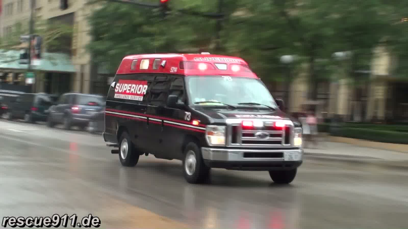 Ambulance Superior Chicago