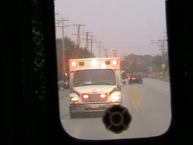 INSIDE VIEW - ALS Ambulance Medic 25 + BLS Ambulance 259 PGFD (stream)