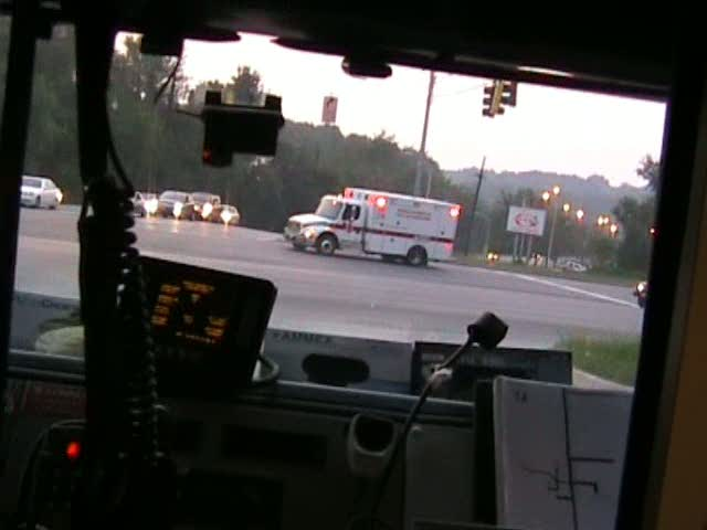 INSIDE VIEW - ALS Ambulance Medic 25 PGFD (stream)