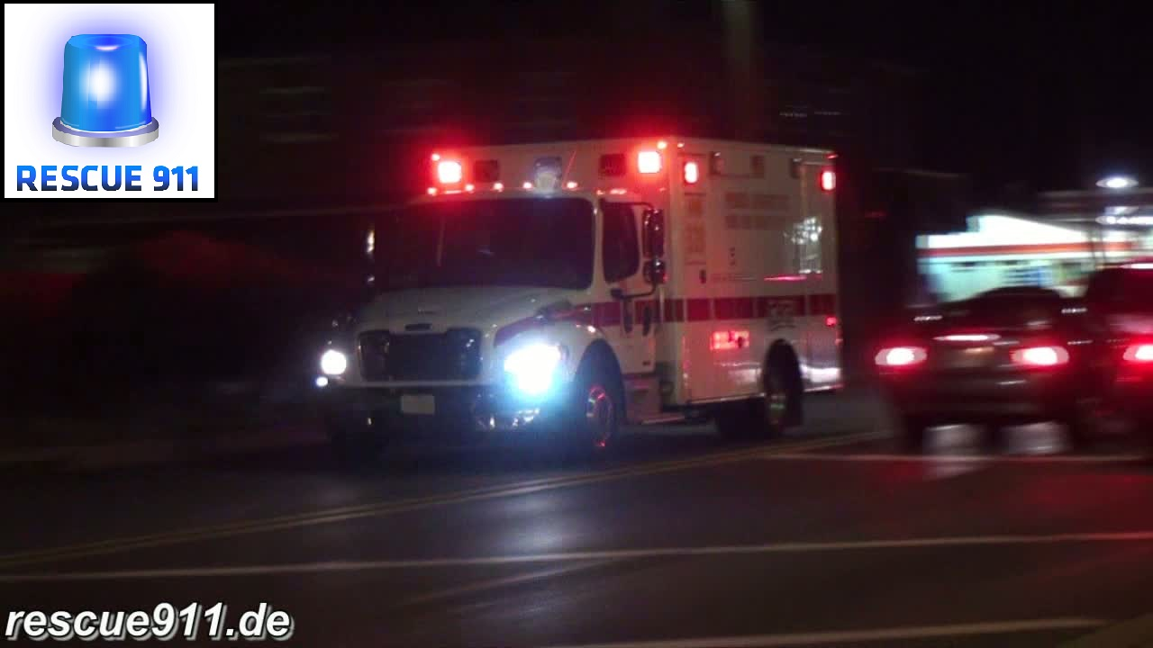 BLS Ambulance 832 PGFD/Ft. Washington Fire Department (stream)