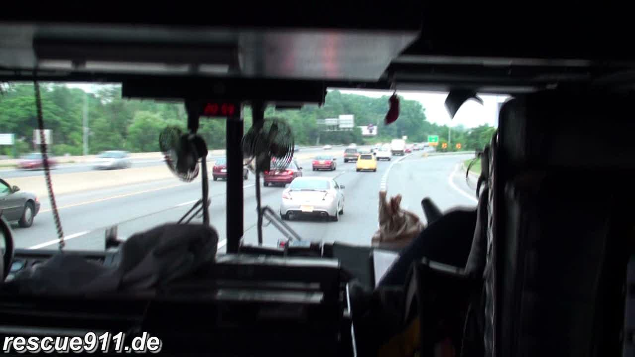 INSIDE VIEW - Truck 825 CVFD/PGFD (stream)