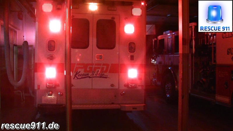 BLS Ambulance 825 CVFD/PGFD (stream)