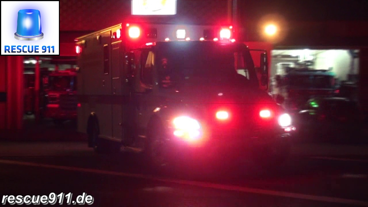 BLS Ambulance 825 + ALS Ambulance 825 PGFD (stream)