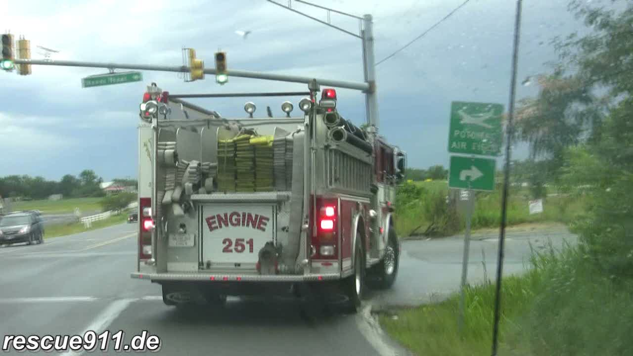 INSIDE VIEW - Battalion 807 + Engine 825 CVFD/PGFD (stream)